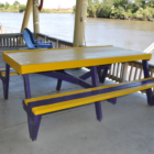 Picnic Tables - Little Caillou Packing Camp